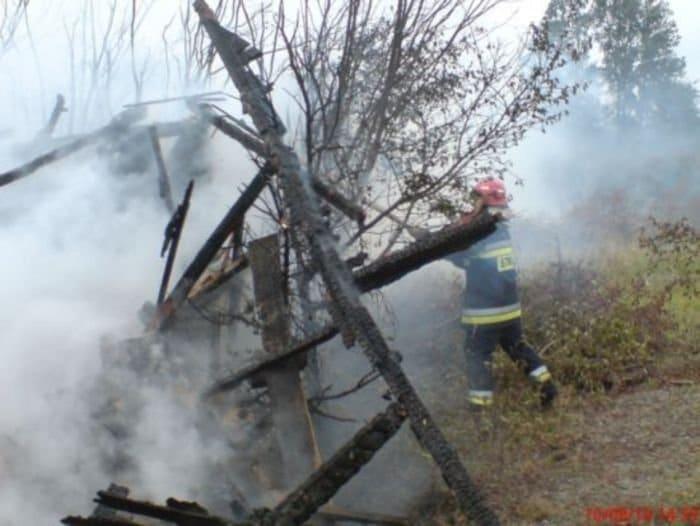 OSP relacja z gaszenia pożaru