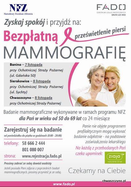 mammografia-chwaszczyno-plakat