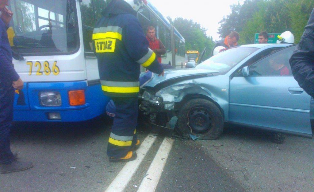 wypadek ul gdynska 25 05-2