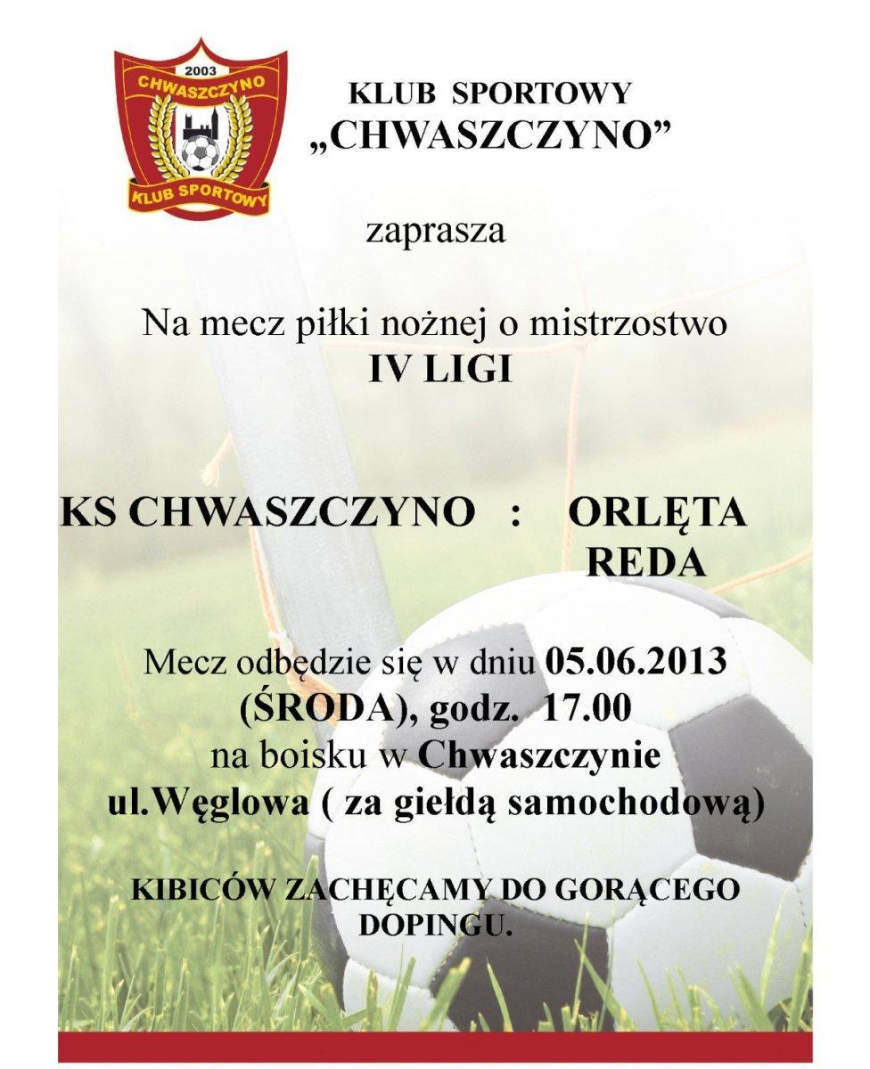 KS--Chwaszczyno-Orleta-Reda