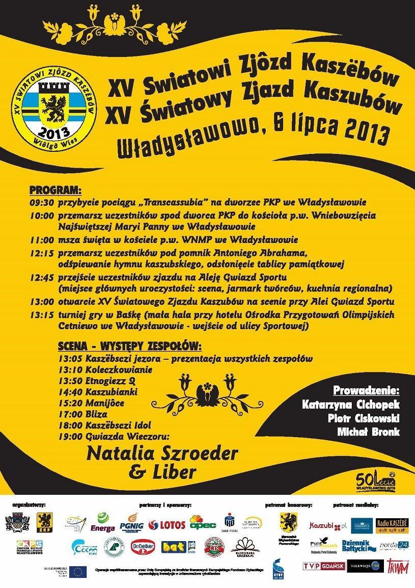 plakat zjazd kaszubow