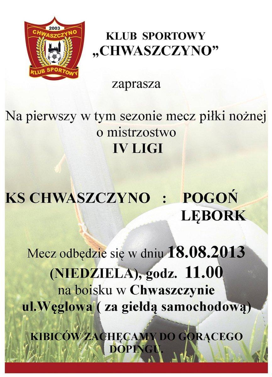 ks-chwaszczyno-pierwszy-mecz-sezonu