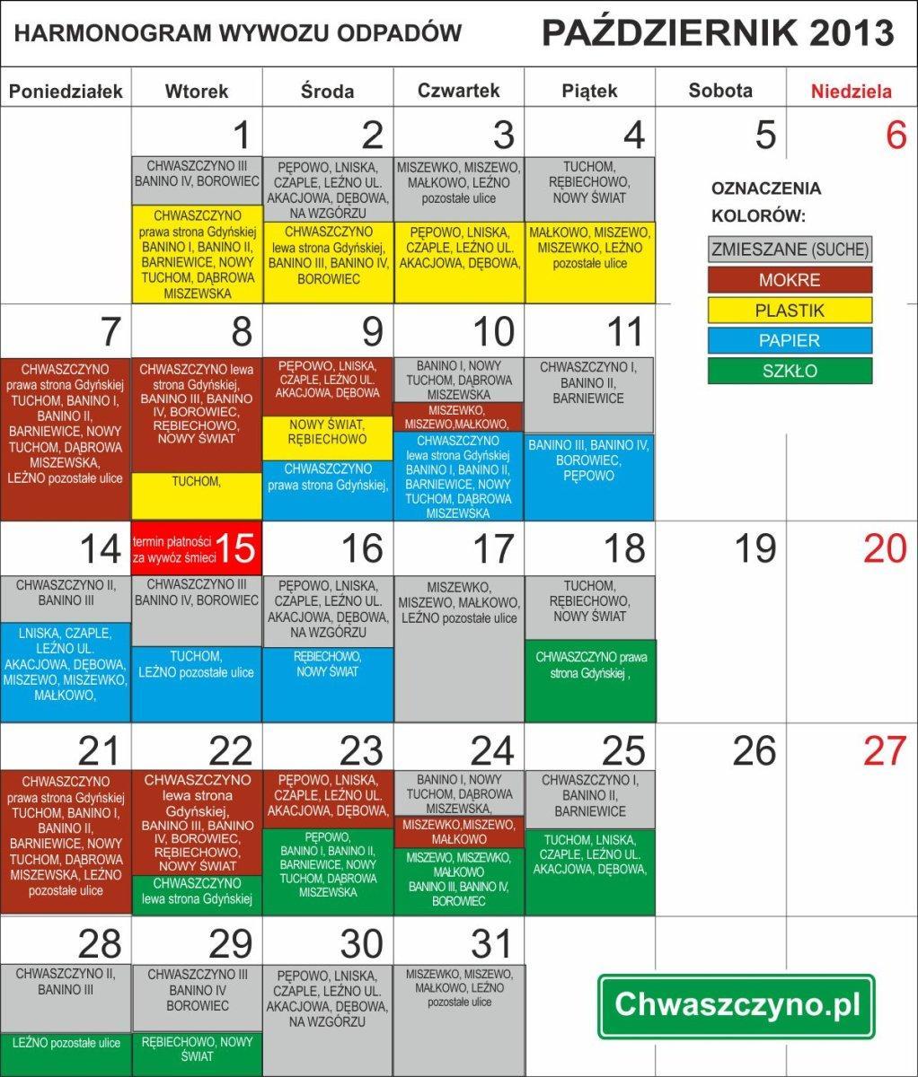 kalendarz-wywozu-odpadow-pazdziernik