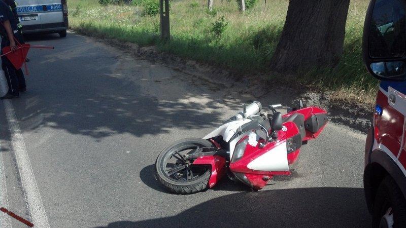 wypadek-osowa-motocykl1