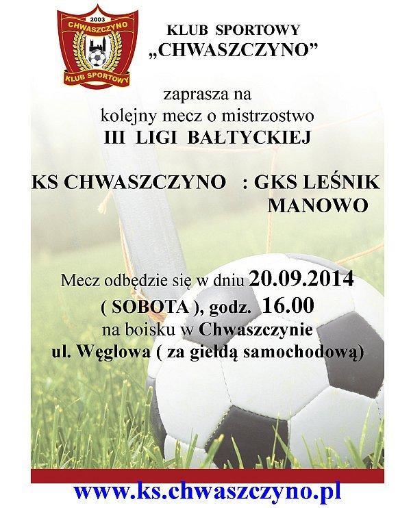 Ks-Chwaszczyno-Gks-Lesnik-Manowo