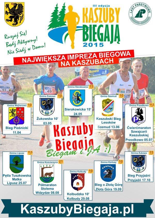 kaszuby biegaja 2015 plakat all