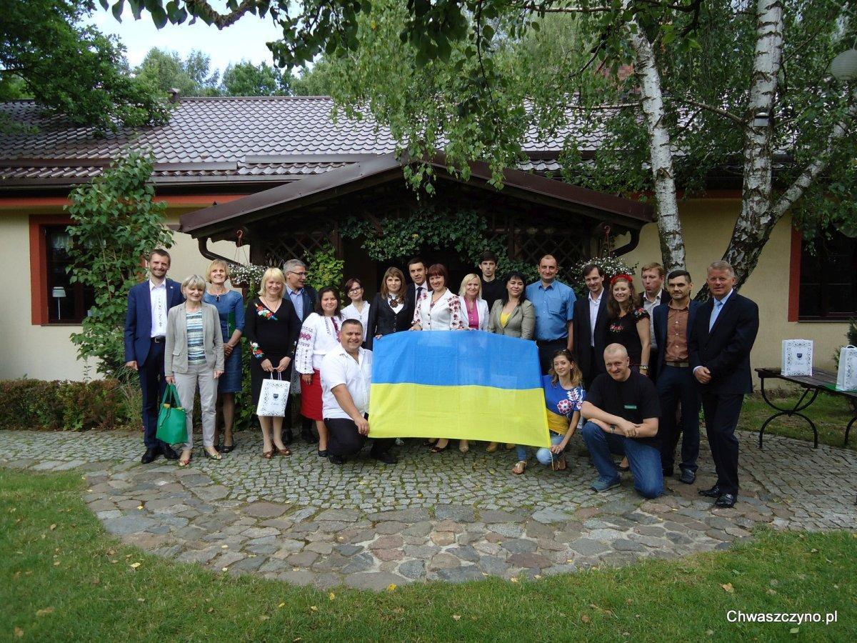 delegacja z ukrainy w chwaszczynie