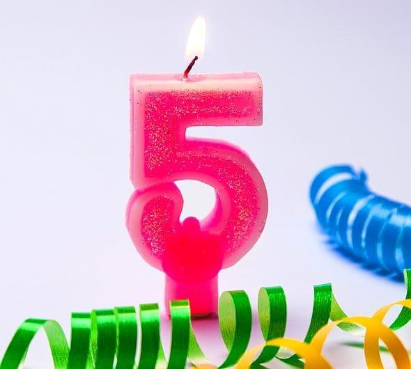 piate urodziny