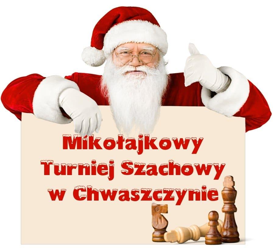 mikolajkowy turniej szachowy w chwaszczynie