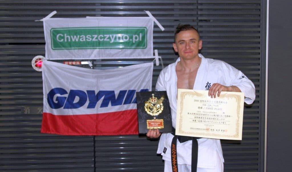 Tokio International Senior Karate Championships 2016 Michal Marcinkowski Chwaszczyno