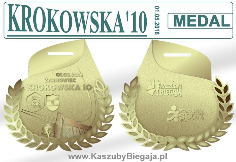 medal krokowska10 2016