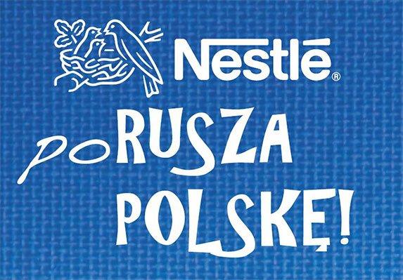 nestle porusza polske