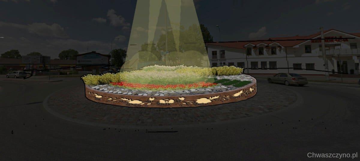 rondo wizualizacja podswietlone