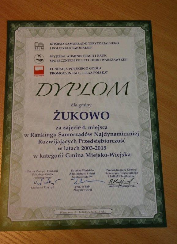 dyplom przedsiebiorczosc