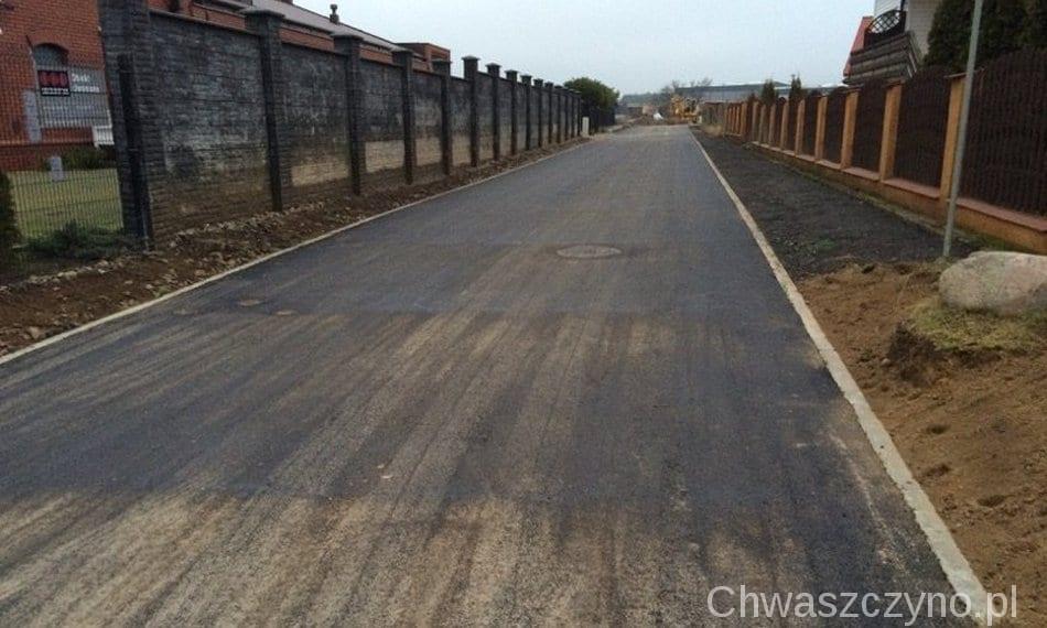 asfalt chwaszczyno