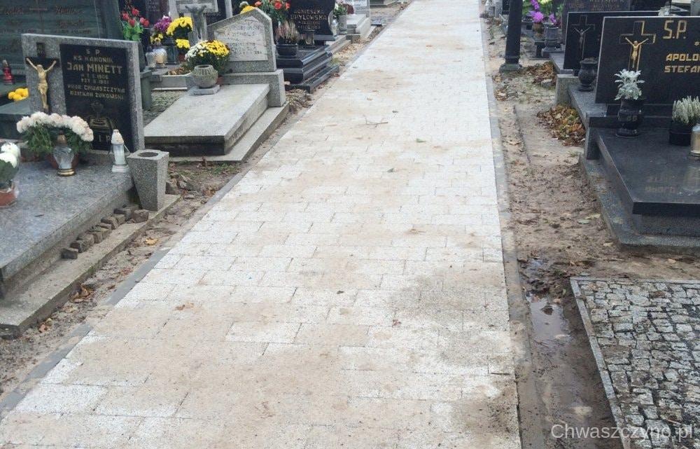 alejki na cmentarzu