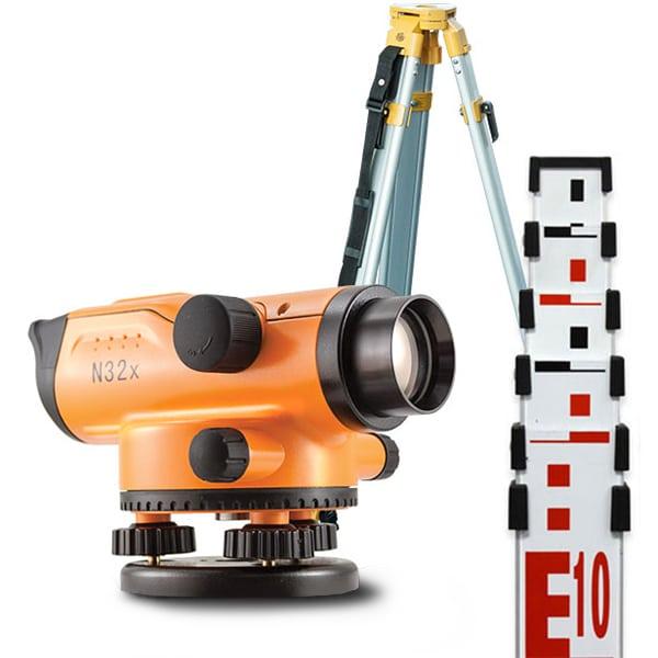 niwelator optyczny nivel system n32 zestaw ata statyw