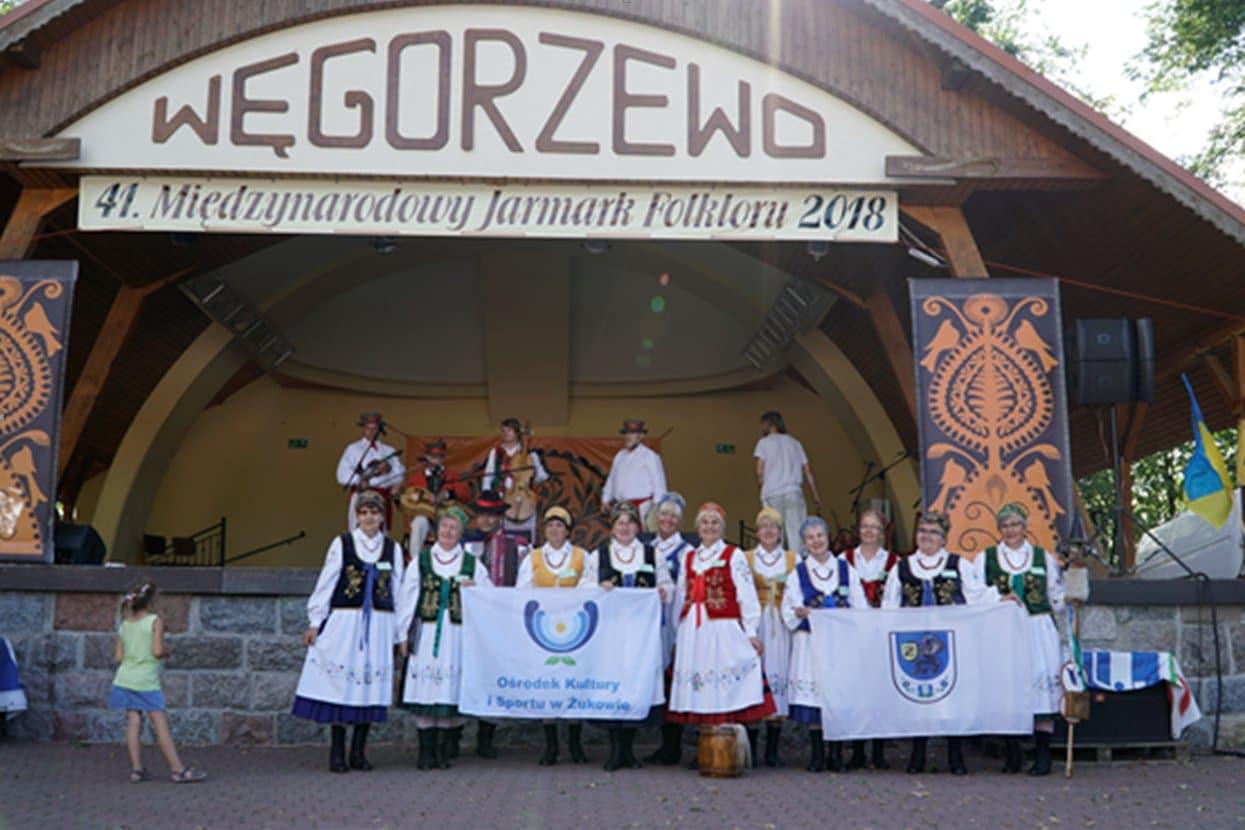 Wyjazd zespołu do Węgorzewa