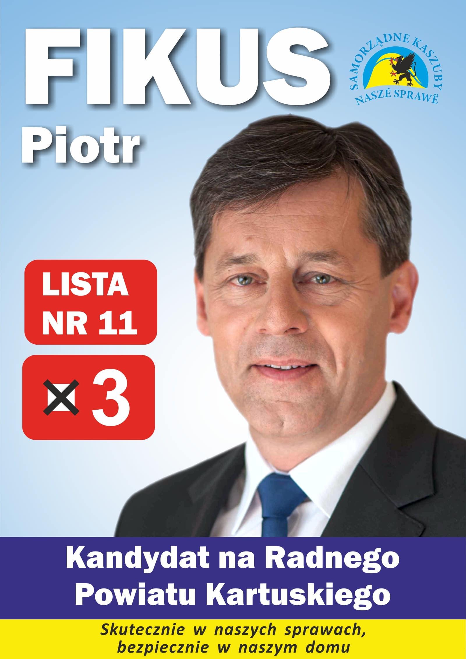 wybory piotr fikus