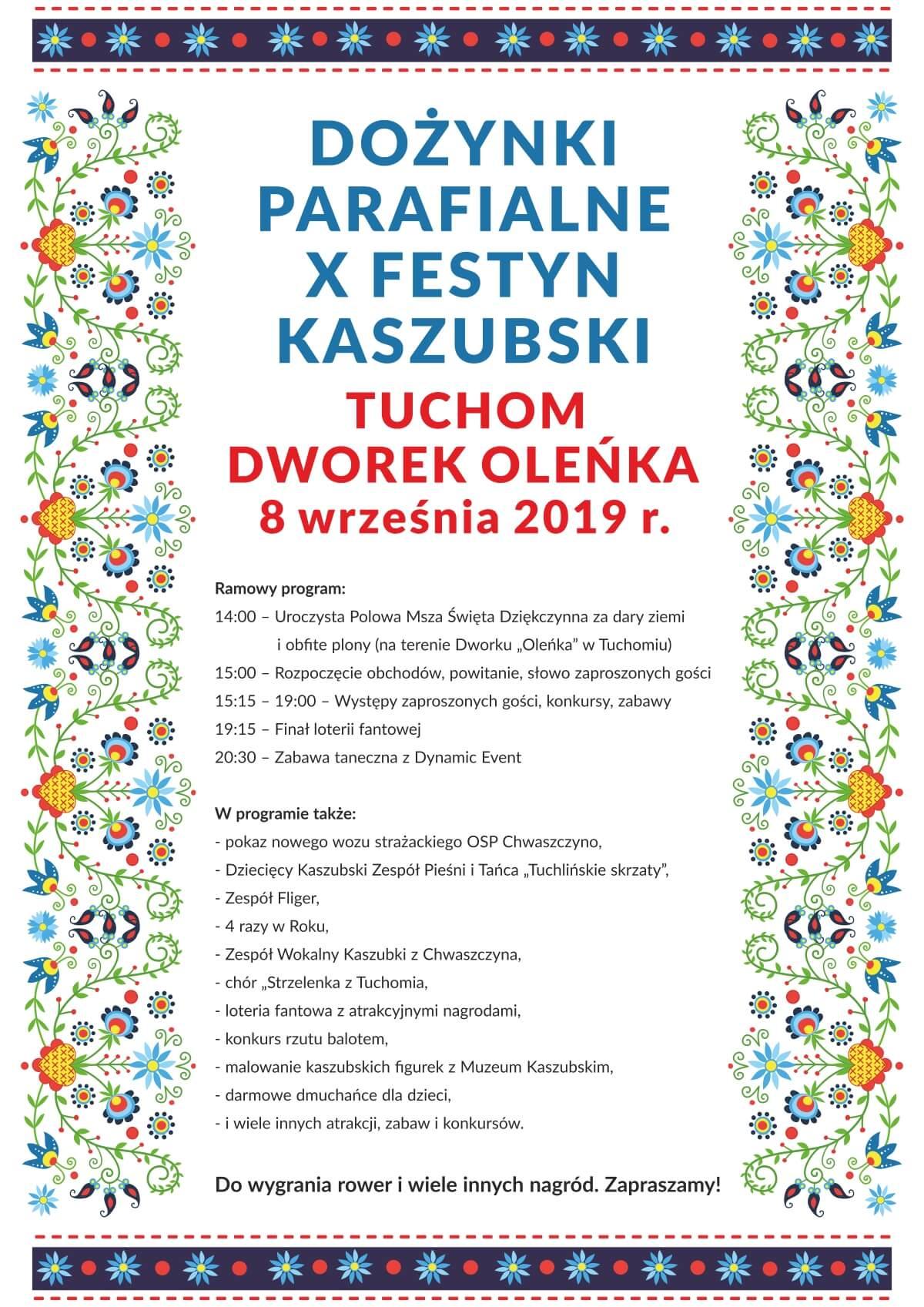 Plakat dozynki A3 2019