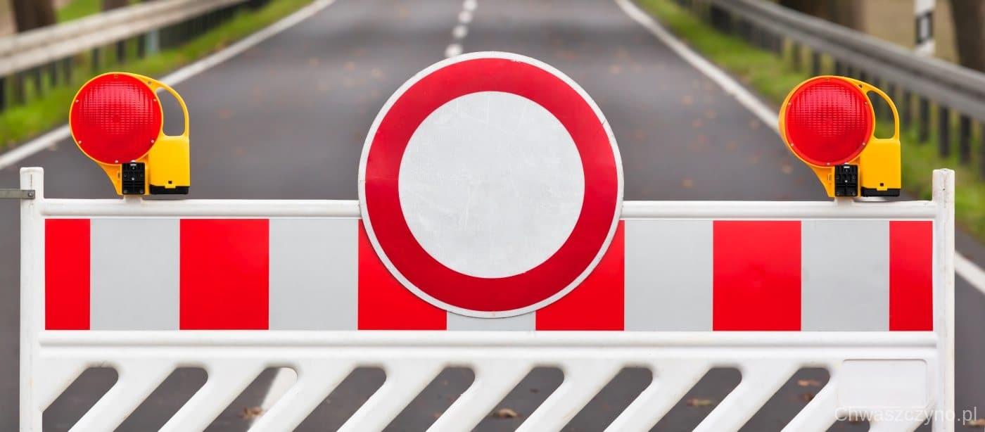 zamknięta droga
