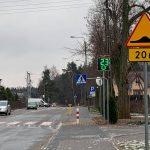 Radarowy wyświetlacz prędkości przy chwaszczyńskiej szkole